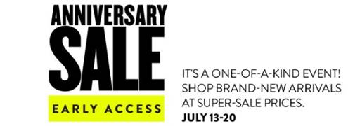Nordstrom Sale- early access!